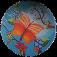 """Вафельная картинка """"Бабочка 3Д"""", диаметр 21 см, фото 1"""
