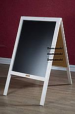 Штендер, рекламная доска, меловая, мимоход, спотыкач,, фото 2