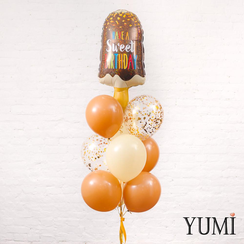 Букет из шаров с гелием для ребенка