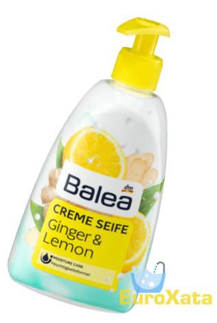 Крем-мыло BALEA Ginger & Lemon Имбирь/Лимон (500мл) Германия