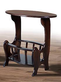 Столик Газетница Темный Орех (Микс-Мебель ТМ)