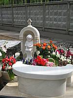 Детское надгробие ангел с голубем №74