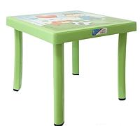 Детский столик Английский Алфавит зеленый (Papatya-TM)