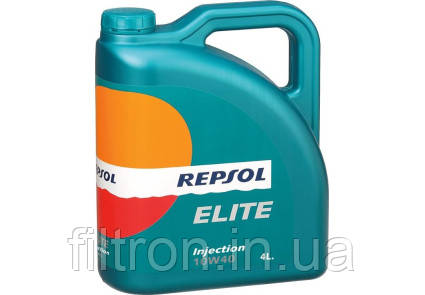 Моторное масло Repsol ELITE INJECTION 10W40 4L