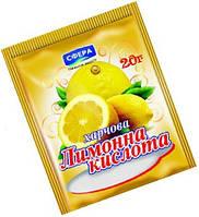 Лимонная кислота 20г/60шт