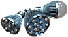 Светодиодная (LED) лампа (фитолампа) для растений 8Вт (полный спектр) E27