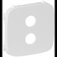 Лицевая панель аудио розетки Banana Legrand Valena Allure Белый (755285)