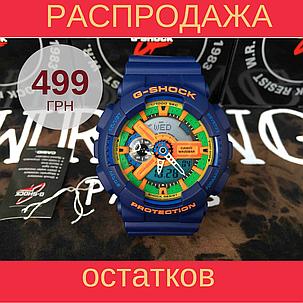 Копия спортивных часов Casio g-shock Ga-110 Dark Blue AAA, фото 2