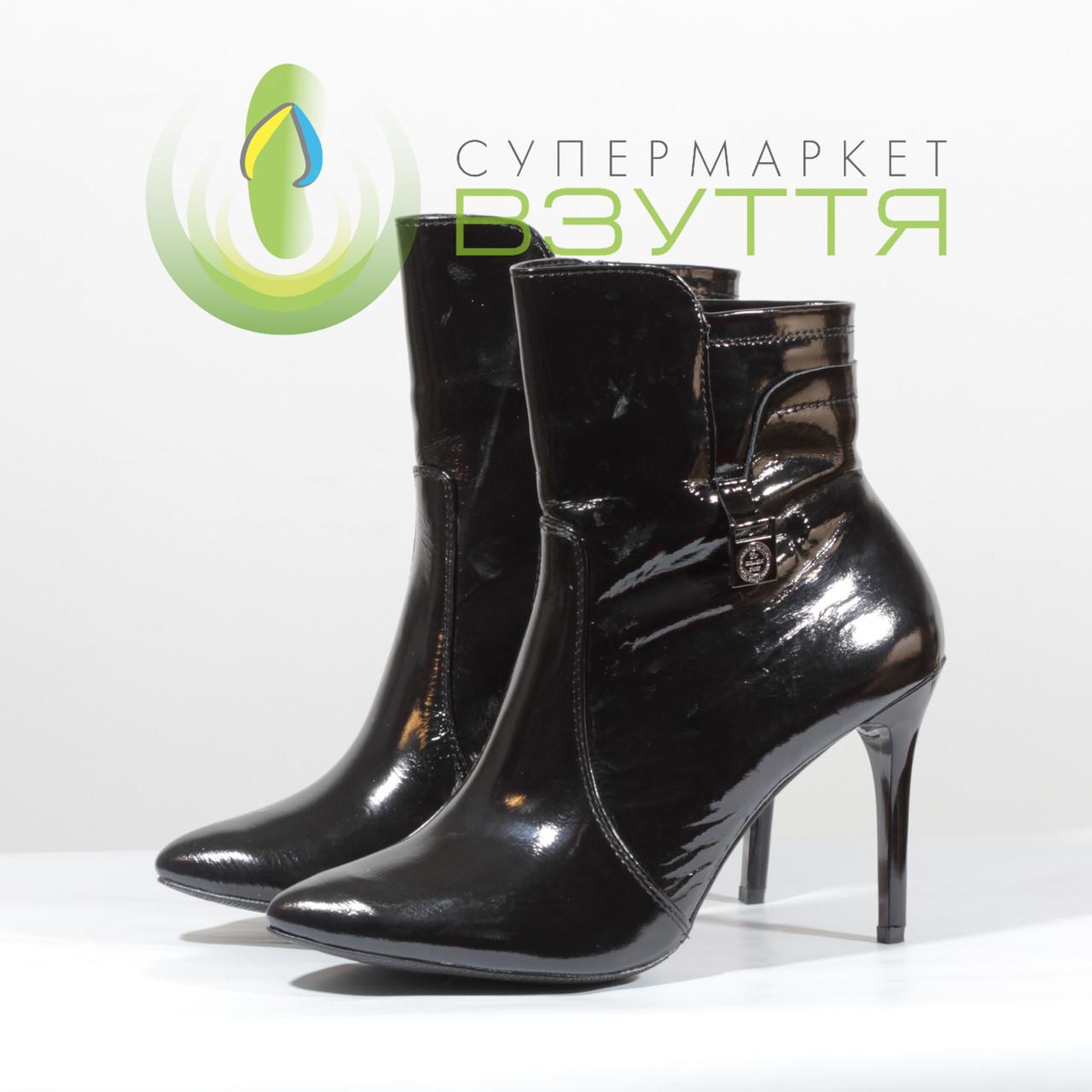 Женски демисезонные сапожки на высоком каблуке Topas art.7135 38-39 размеры