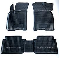 Коврики в салон Chevrolet Lacetti 2004 -> черный, кт - 4шт