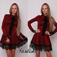 Нарядное короткое платье ан-180247-3