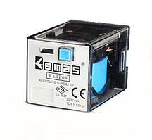 Реле RE1P11AC220 промежуточное 3 контакта на 11 выводов Эмас
