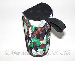 JBL TG113 копия, Bluetooth колонка с FM и MP3, Squad камуфляжная