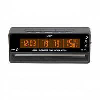 Автомобильные часы VST-7010V (вольтметр+2 термодатчика)