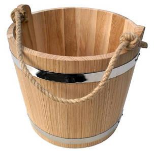 Дубовое ведро для бани Seven Seasons™, 12 литров