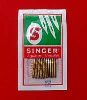 Иглы SINGER №90/14 для бытовых швейных машин (набор 10 игл)