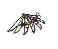 Вешалка плечики для одежды (цветна)