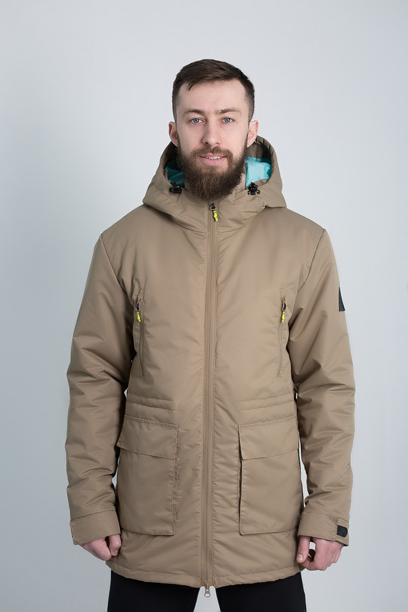 21f0f4e29a10 Зимняя куртка парка мужская Urban Planet WM6 Sepia - купить по ...