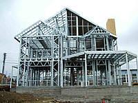 ЛСТК профили (профиль для легких стальных конструкций) типов Z, C, L, сигма, омега