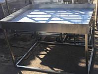 Столы, стеллажи из нержавейки для производства сыра