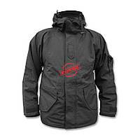 Куртка Mil-Tec 10615002 непромокаемая с флисовой подкладкой Black, фото 1