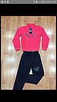 Яркий  розовый  спортивный костюм на девочку 8-16 лет