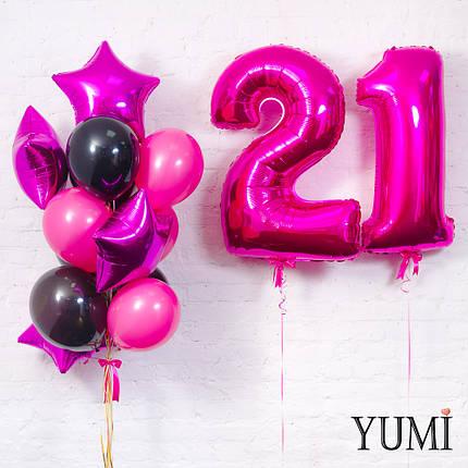 Оформление и воздушных шаров для девушки, фото 2