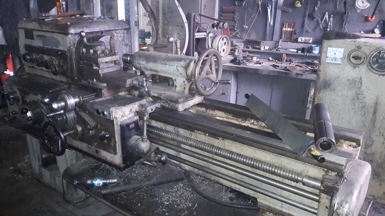 Станок токарно-винторезный, токарный станок 1К62 БУ