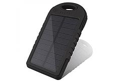 2 USB +СОЛНЕЧНАЯ батарея!! Power Bank Solar 20 000mAh (пауэр банк) Внешнее зарядное устройство- паурбанк, фото 2