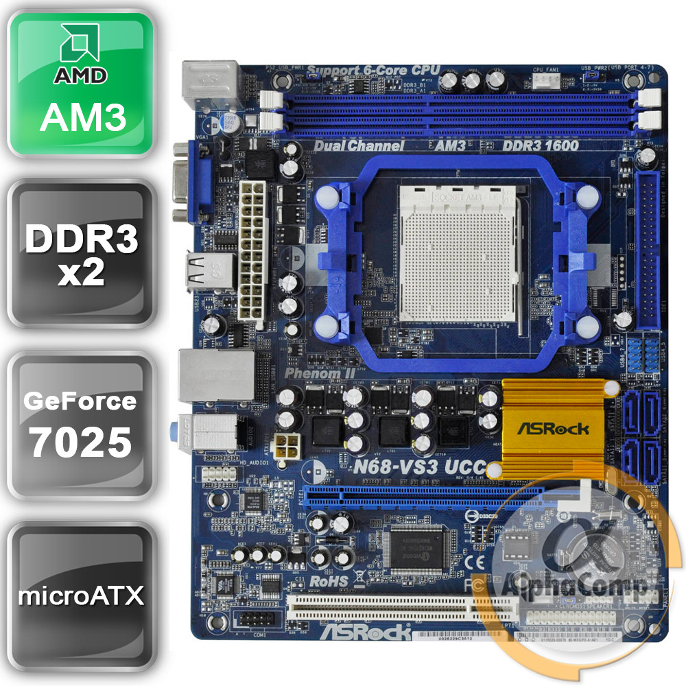 ASROCK N68-VS3 UCC WINDOWS 7 DRIVER DOWNLOAD
