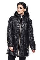 Женская длинная куртка большие размеры, фото 1