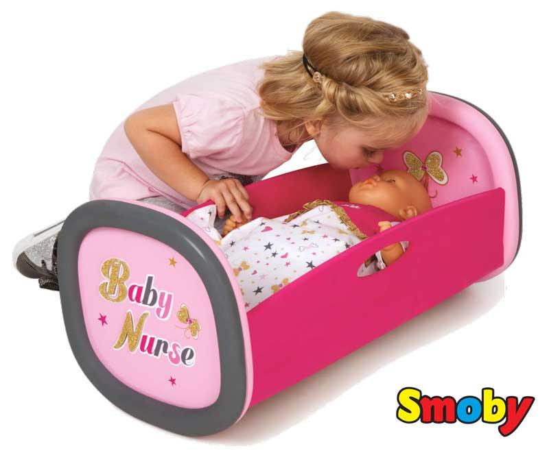 Колыбель для пупса Baby Nurse Gold Edition Smoby 220313