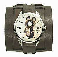 Наручные часы на эксклюзивном ремешке Олимпийский мишка 143-1422427