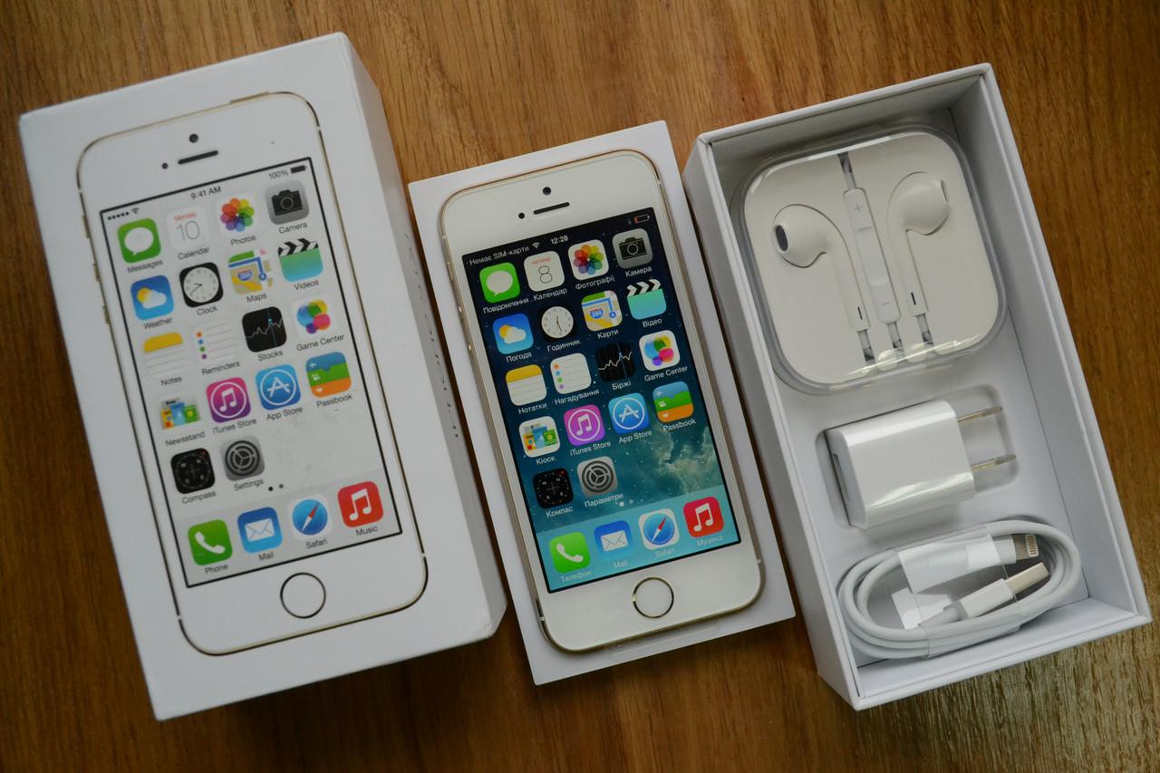 Apple iPhone 5S 32GB, szary - Ceny i opinie