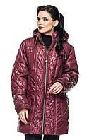 Куртка женская демисезонная большие размеры, фото 1