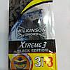 Cтанки Wilkinson Sword Xtreme3 Black Edition  3+3 шт.