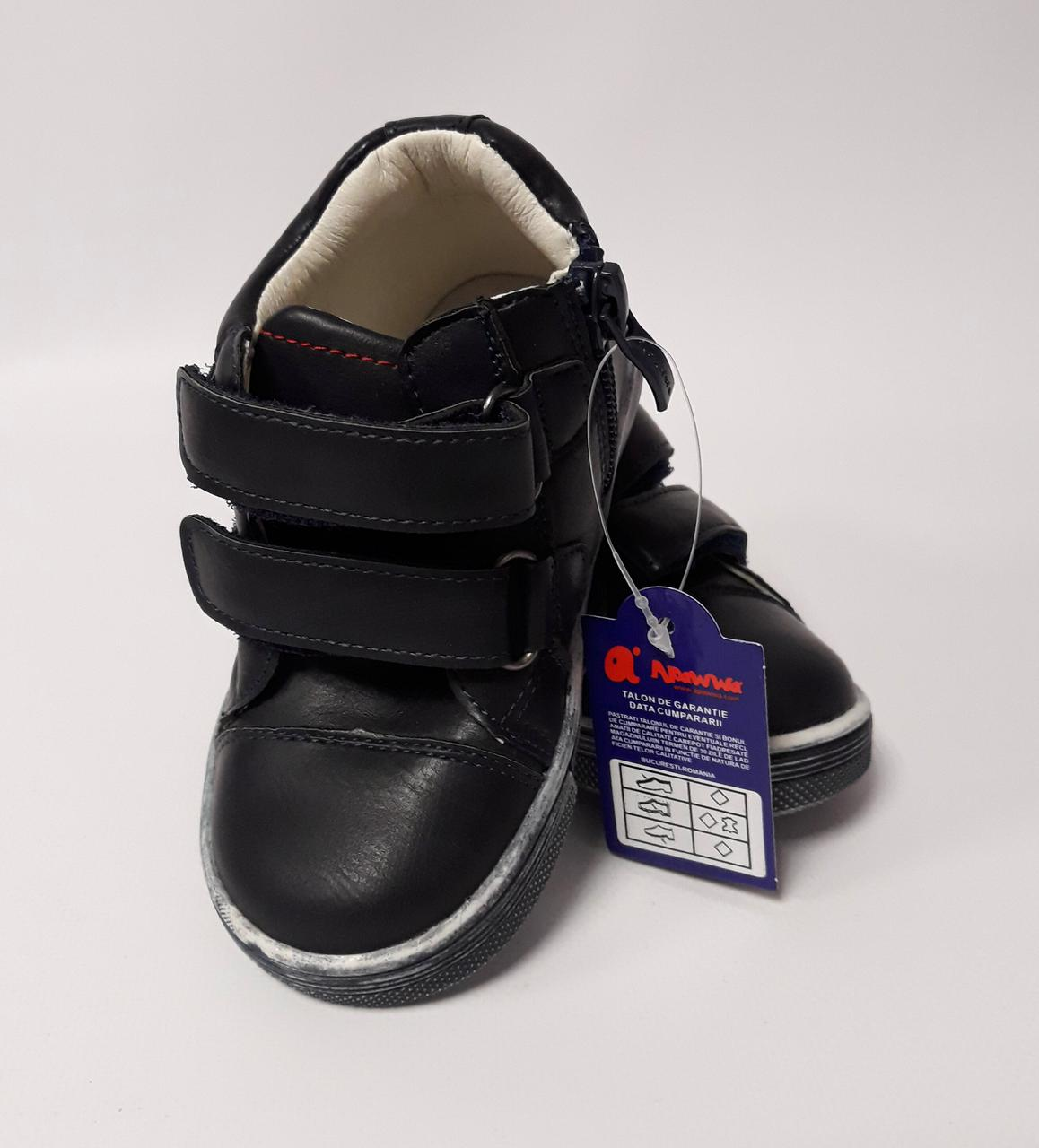 Ботинки для мальчиков Размер 21 Синий Н49(21) Apawwa Румыния