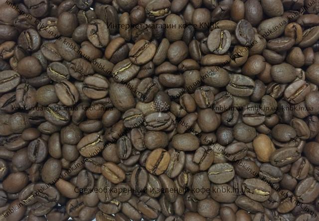 Фото зерен бленд сортовкофе свежеобжаренный арабика 80 робуста 20