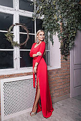 Платье вечернее с разрезами 61/474