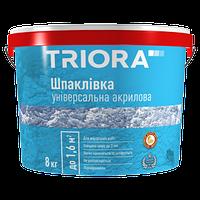"""Шпатлёвка универсальная акриловая """"TRIORA"""" 16,0 кг"""