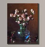 Картина HolstArt Цветы в вазе 2 41*54см арт.HAS-181