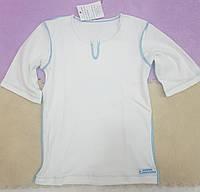 Рубашка из хлопка ДЕЛОВАЯ МАМА (белая, размер 1-2 года)