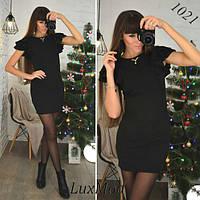 """Платье """"Виола"""", черное, фото 1"""