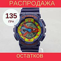 Распродажа! Мужские спортивные часы Casio G-Shock ga-110 Blue, фото 1