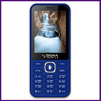Телефон Sigma X-Style 31 Power (BLUE). Гарантия в Украине 1 год!