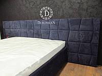 Спинка изголовье для кровати в форме трапеции, трапецевидные мягкие панели