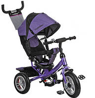 Велосипед детский трёхколёсный M 3113 резина (Фиолетовый)