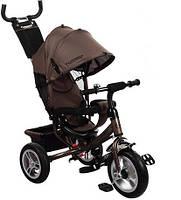 Велосипед детский трёхколёсный M 3113 резина (бежевый)