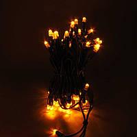 Светодиодная гирлянда String Light (нить) мигающая 20м 200LED Каучук, фото 1