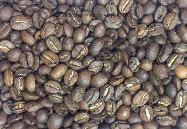 Фото зерен кблендкофе свежеобжаренный (бленд, смесь) купаж арабики